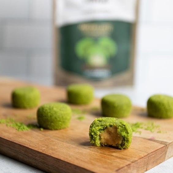 Product Launch Vegan Paleo Revol Snax Local Business Matcha Latte Bites Washington DC Compressed-1