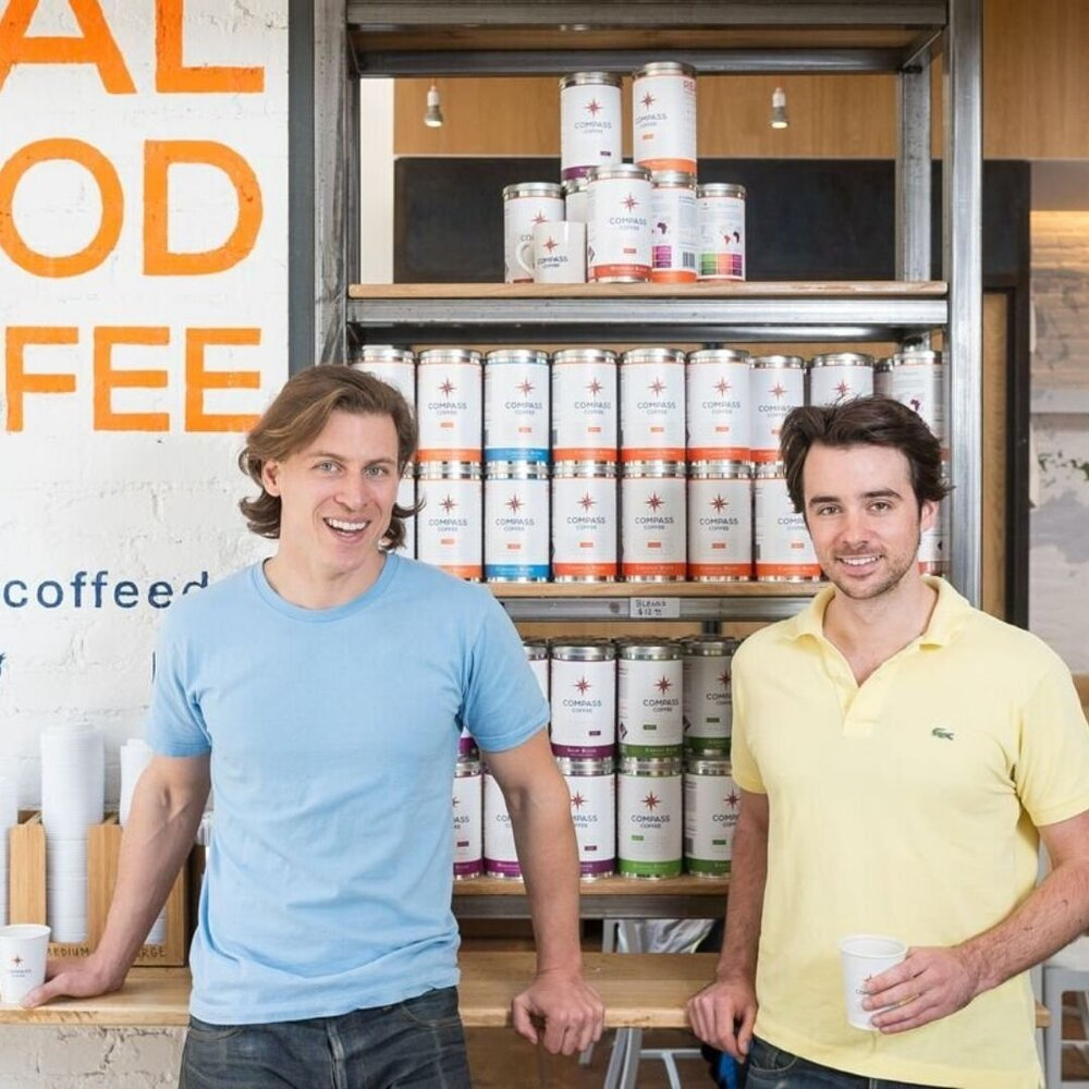 Compass Coffee Innovators Founders Food Beverage Michael and Harrison Local Business Washington DC Compressed.jpg