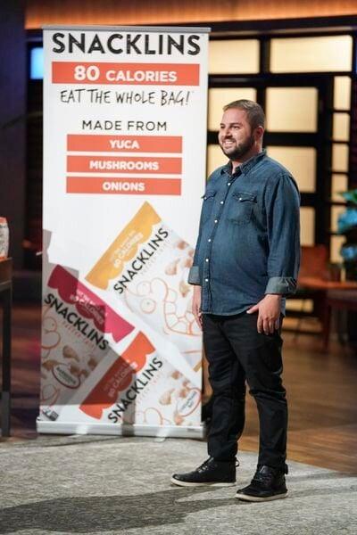 Samy Snacklins on Shark Tank Launch Product Washington DC Mark Cuban Food Healthy