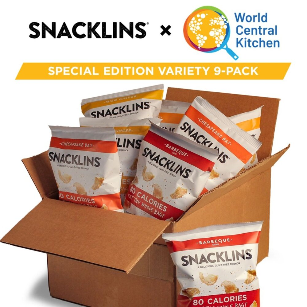 Snacklins and World Central Kitchen Team Up to Address Food Shortages