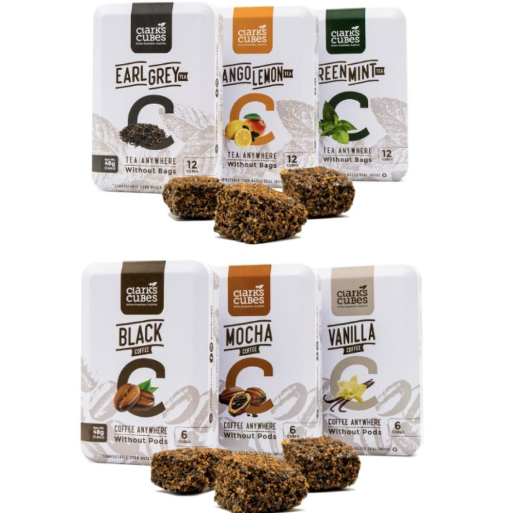 Tin Clark Cubes Product Beverages Launch Local Business Tea Boxes Environmental Sustainability Compressed.jpg