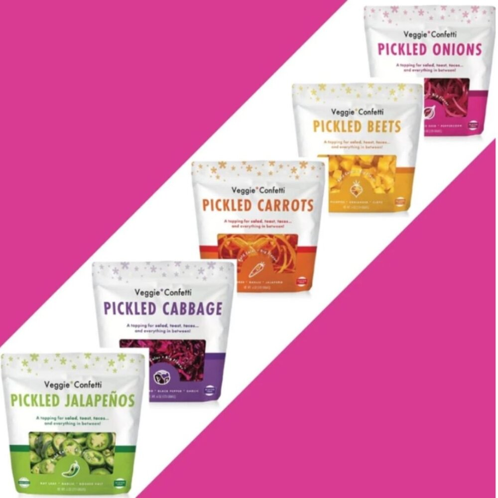 Veggie Confetti launches new products!