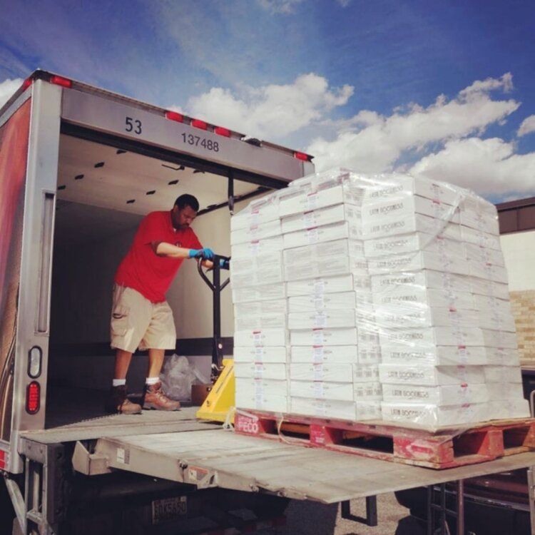 Women Minority Owned Business Pallets of M'Panadas Trucks Employee Local Business Washington DC Compressed.jpg