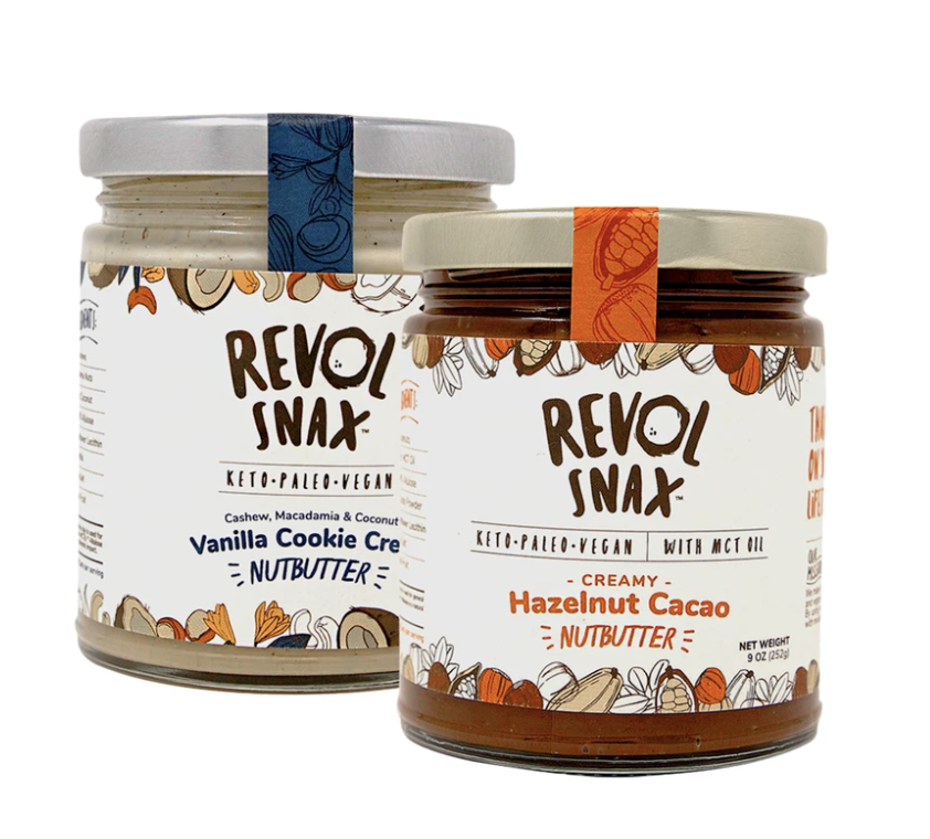 I Can't Believe it's Keto Butter: Revol Snax Launches Line of Nut Butters