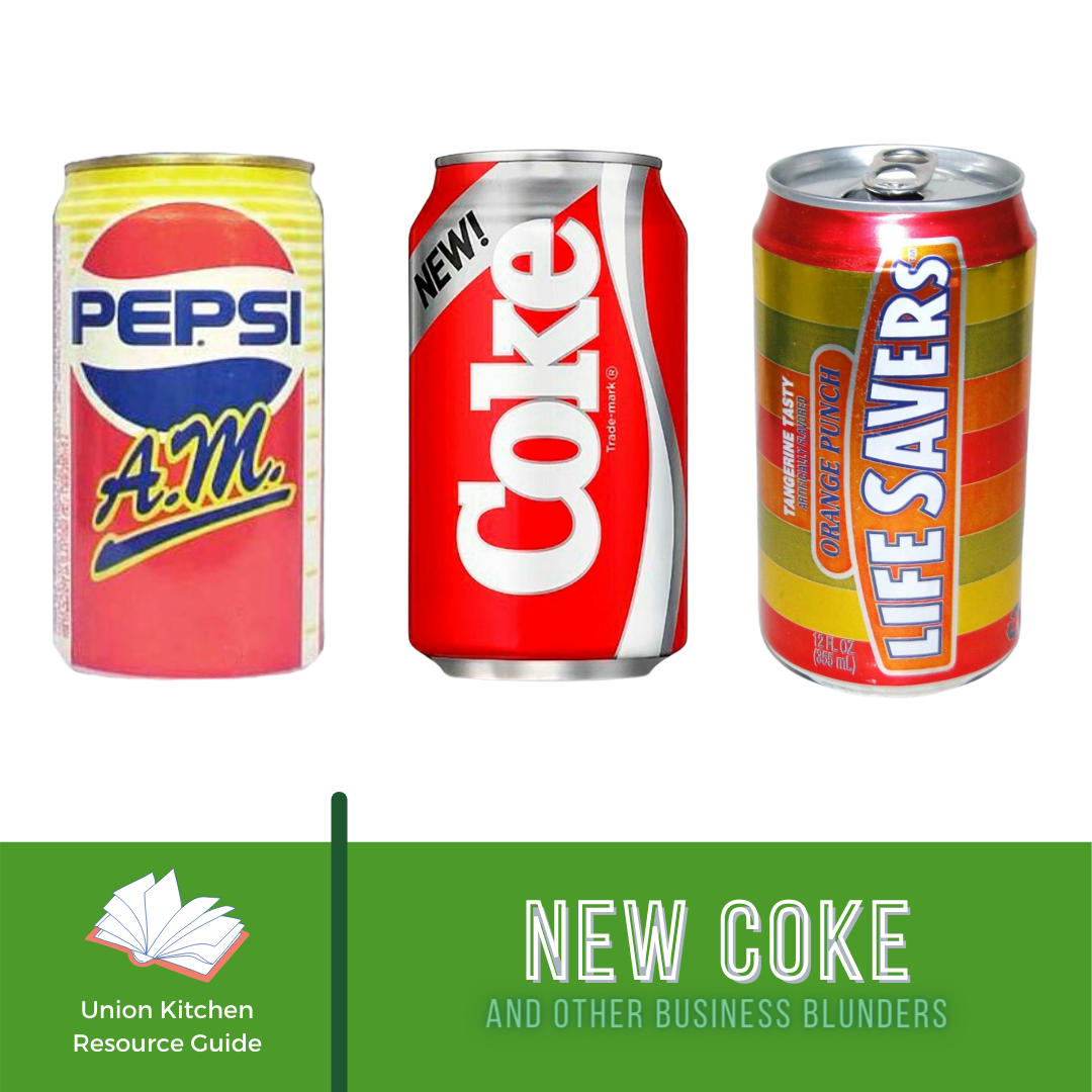 New Coke and Other Business Blunders