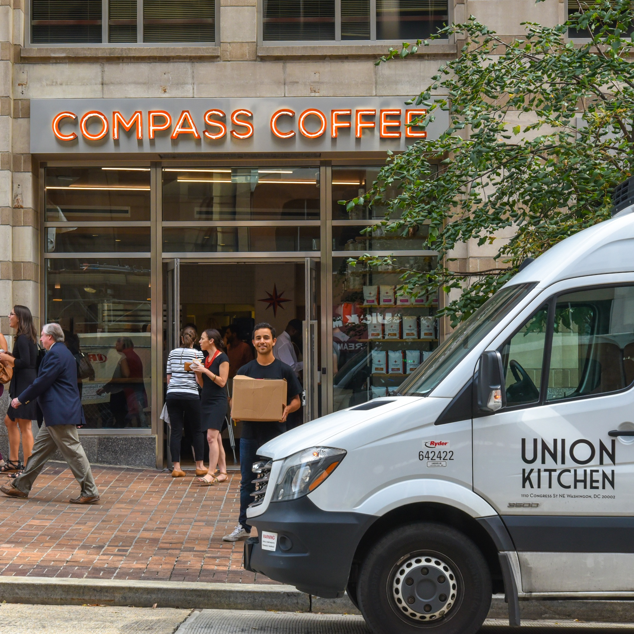 Distro+Delivery+to+Compass+Coffee