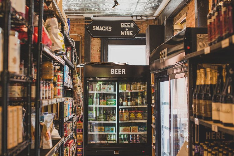 beer wine at Grocery, Workhorse